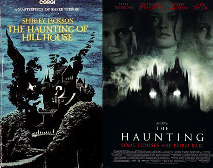 Movie Vs Book The Haunting Of Hill House Nicole Evelina Usa Today Bestselling Author